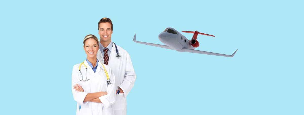Quick Medical Emergency by Air Ambulance in Indore and Jabalpur